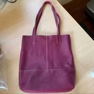 ‼️Good Deal and free shipping ‼️Fashion Genuine soft Leather Tote bag